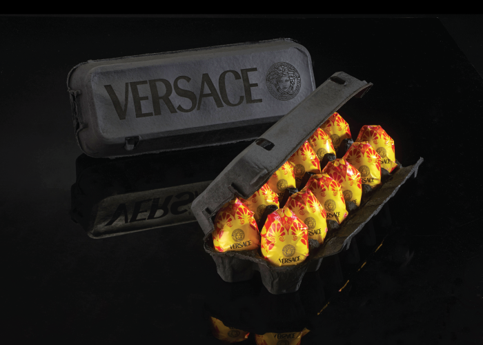 Eggs by Versace