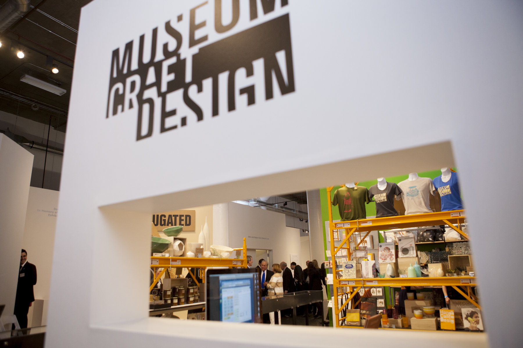 Exhibition At Museum Of Crafts And Design San Francisco 2014